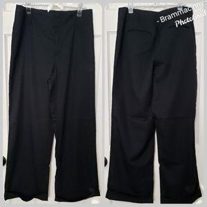 Banana Republic Black Wool High Waisted Pants
